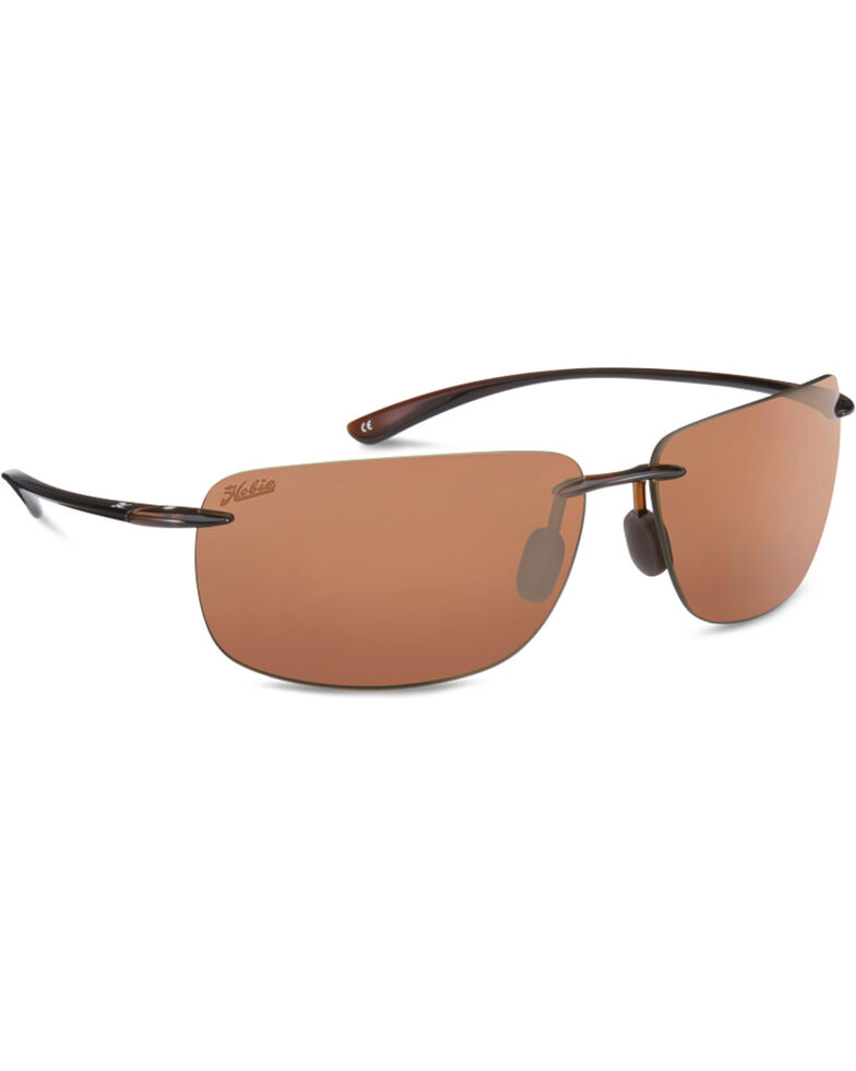 Hobie Men's Copper and Crystal Brown Polarized Rips Sunglasses , Brown, hi-res