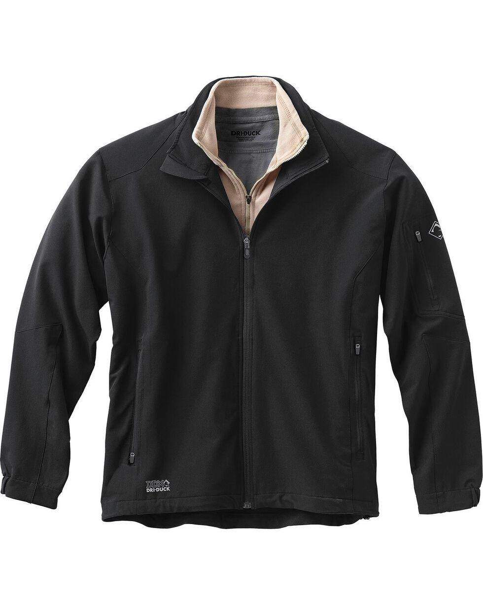 Dri Duck Men's Baseline Softshell Jacket - 3X & 4X, Black, hi-res