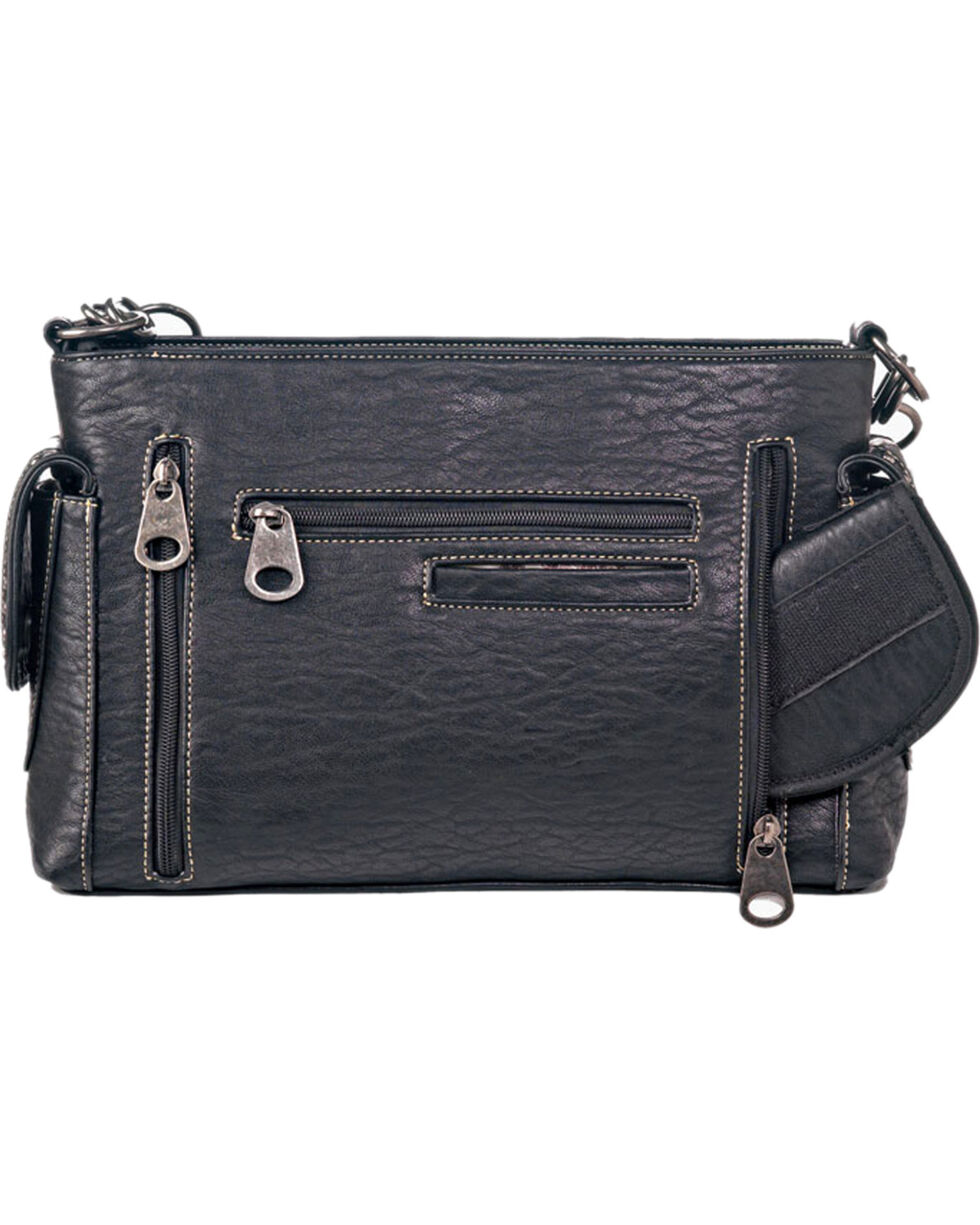 Blazin Roxx Shelby Conceal Carry Satchel, Black, hi-res