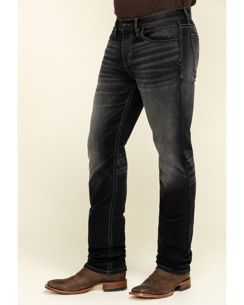 Cody James Men's Steel Stretch Slim Straight Jeans , Blue, hi-res
