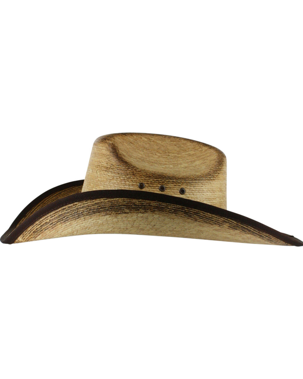 Cody James® Men's Ponderosa Straw Hat, Natural, hi-res