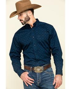 Ariat Men's Dalporto Stretch Geo Print Long Sleeve Western Shirt , Multi, hi-res