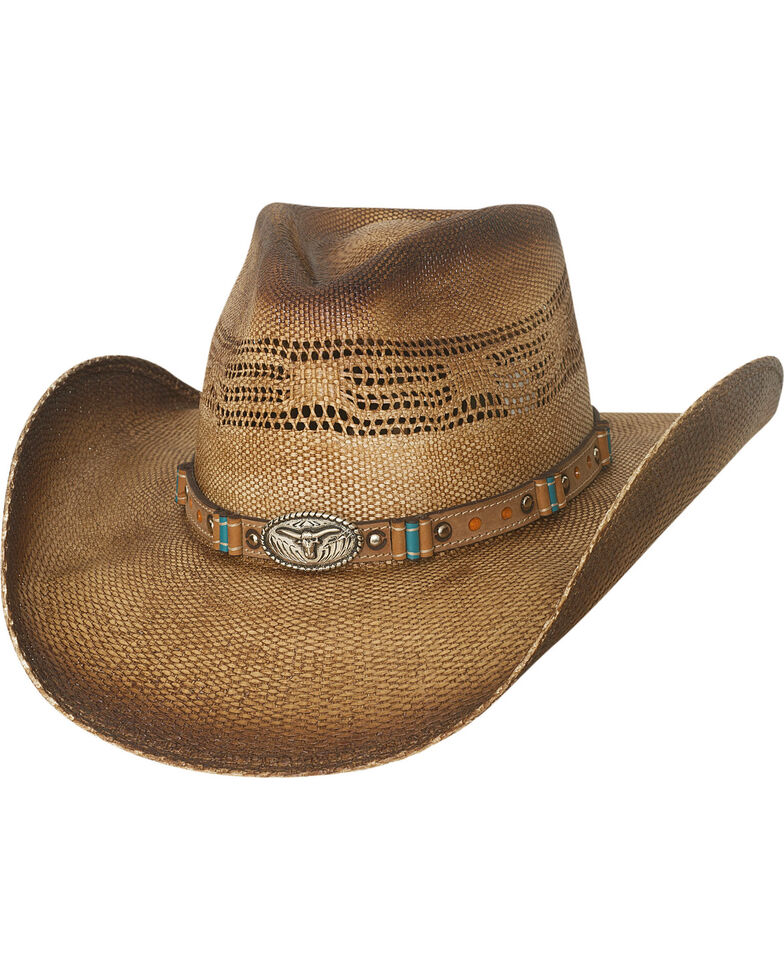 Bullhide Men's Natural Craving You Straw Cowboy Hat, Natural, hi-res