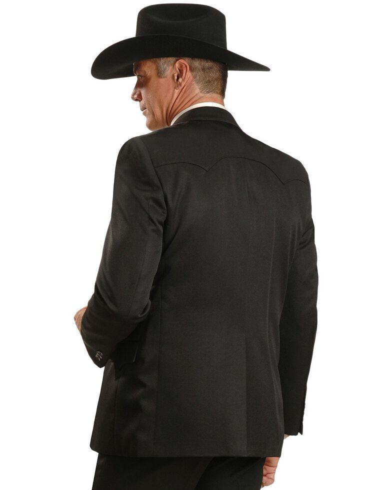 Circle S Men's Lubbock Sport Coat, Black, hi-res