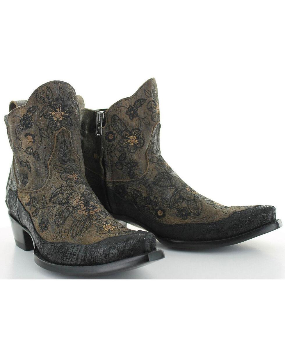 Old Gringo Women's Bonnie Booties - Snip Toe , Black, hi-res