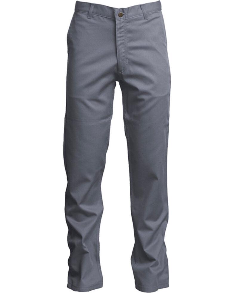 87e3336a2cc7 Lapco Men s Grey FR UltraSoft Uniform Pants - Straight Leg