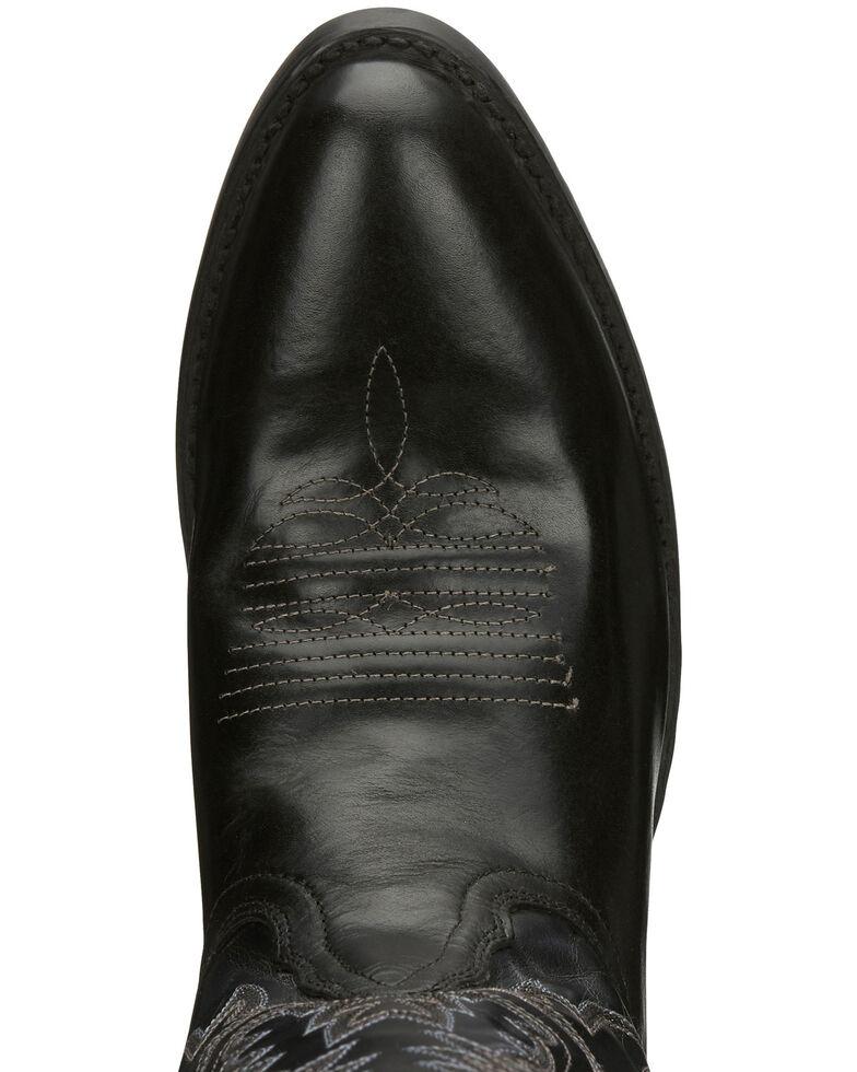 Nocona Men's Jackpot Western Boots - Round Toe, Black, hi-res