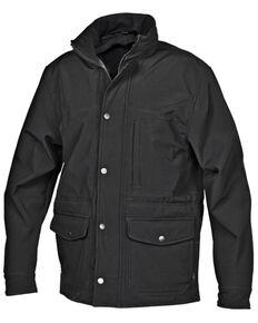 STS Ranchwear Boys' Black Youth Brazos Softshell Jacket , Black, hi-res
