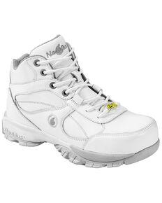 Nautilus Men's Steel Toe ESD Hiking Shoes, White, hi-res