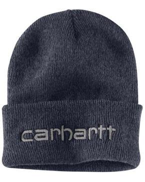Carhartt Men's Heathered Grey Teller Beanie, Heather Grey, hi-res