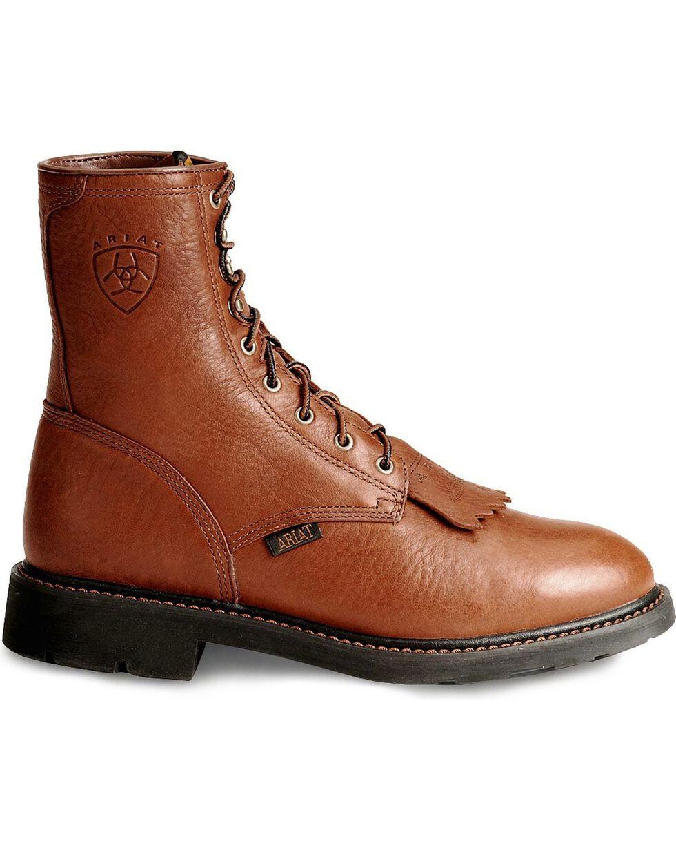 Ariat Men's Cascade Steel Toe Work Boots, Bronze, hi-res