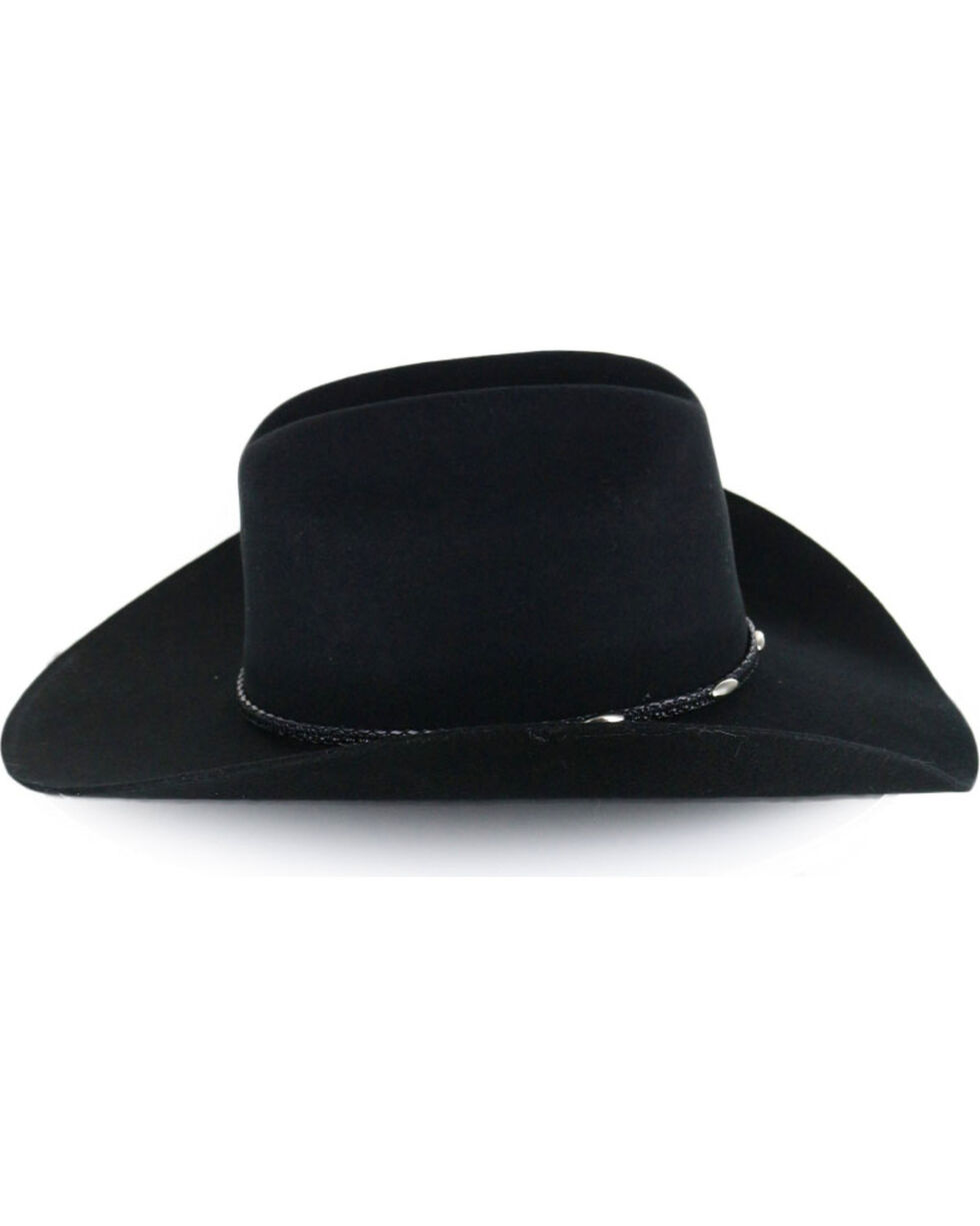 Cody James® Men's Casino Black Wool Hat, Black, hi-res