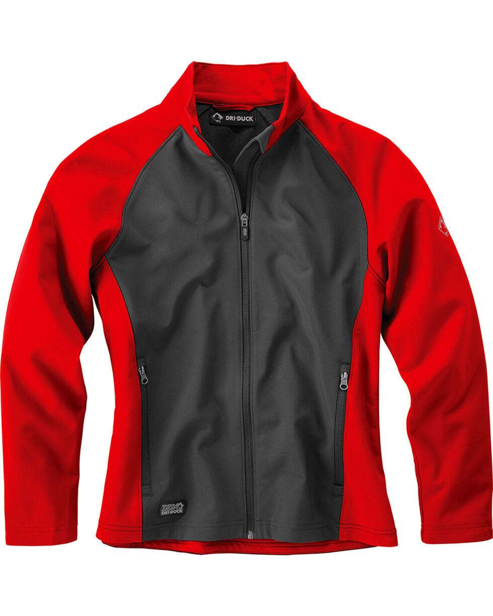 Dri Duck Women's Contour Soft Shell Jackets , Red, hi-res
