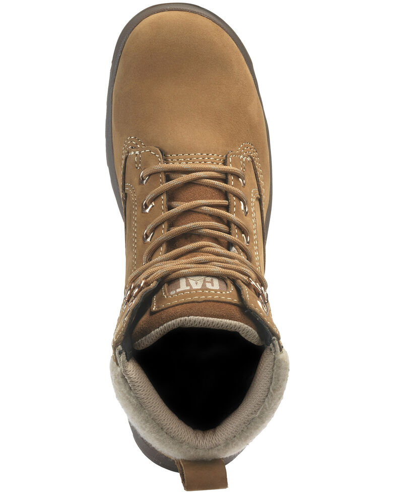 Caterpillar Women's Tess Sundance Work Boots - Steel Toe, Brown, hi-res