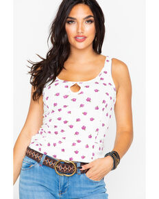 Idyllwind Women's Sundown Rose Tank, Ivory, hi-res