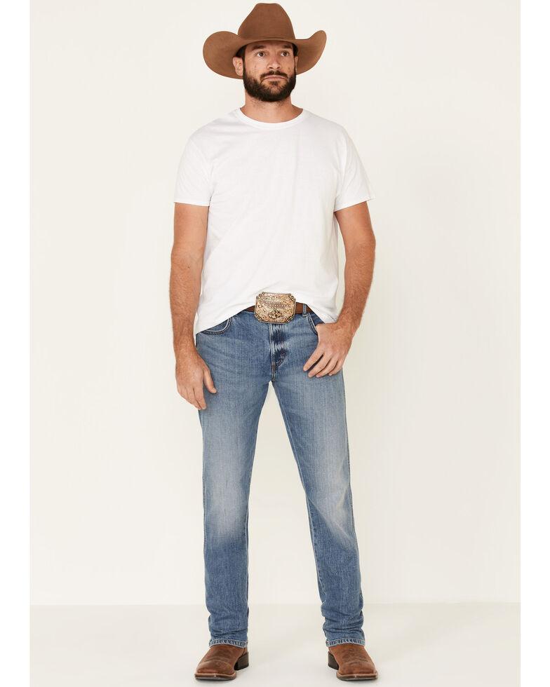 Wrangler Retro Men's Linville Light Stretch Slim Straight Jeans , Blue, hi-res