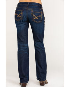 Cinch Women's Ada Rinse Jeans, Indigo, hi-res