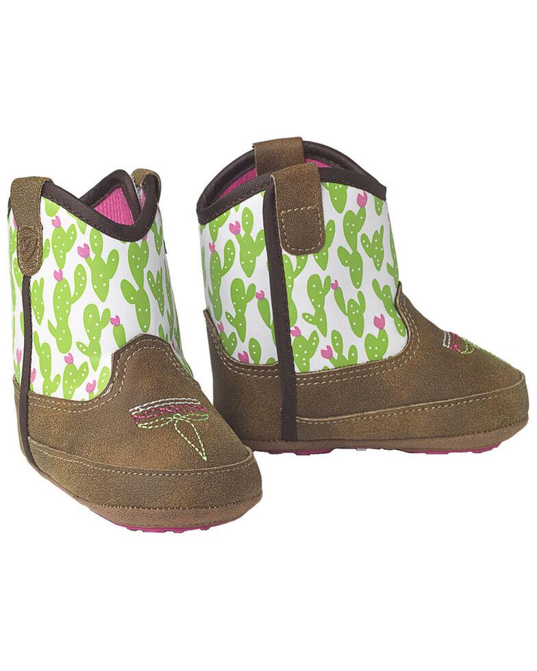 Ariat Infant Girls' Anaheim Boots, Brown, hi-res