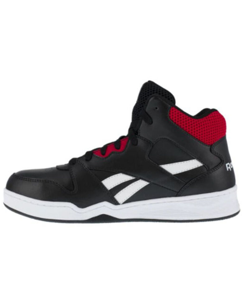 Reebok Men's Black Work Shoes - Composite Toe, Black, hi-res