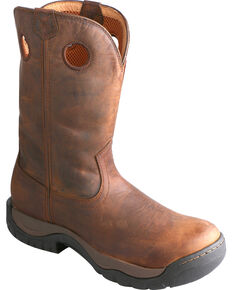 Twisted X Men's Waterproof All Around Western Boots, Taupe, hi-res