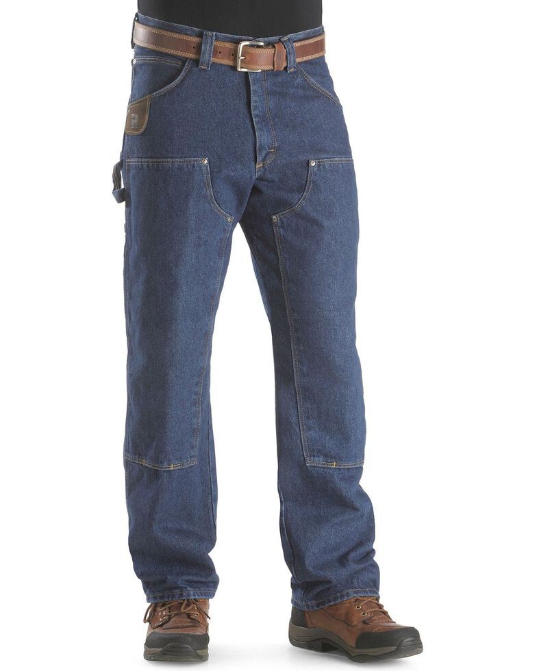Riggs Workwear Men's Utility Work Jeans, Antique Indigo, hi-res