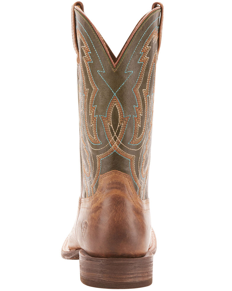 dca77973ba8 Ariat Men's Circuit Competitor Rifle Green Cowboy Boots - Round Toe