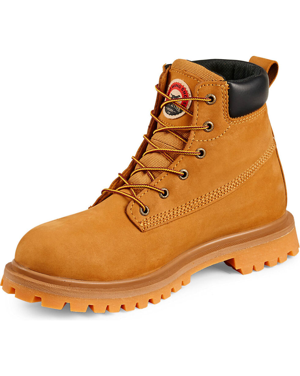 "Irish Setter by Red Wing Shoes Men's Hopkins EH Insulated Waterproof 6"" Work Boots - Aluminum Toe , Wheat, hi-res"