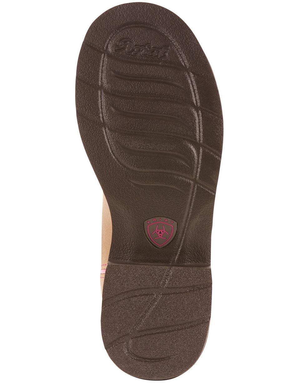 Ariat Women's Sandstone Cactus Western Boots - Round Toe, Tan, hi-res