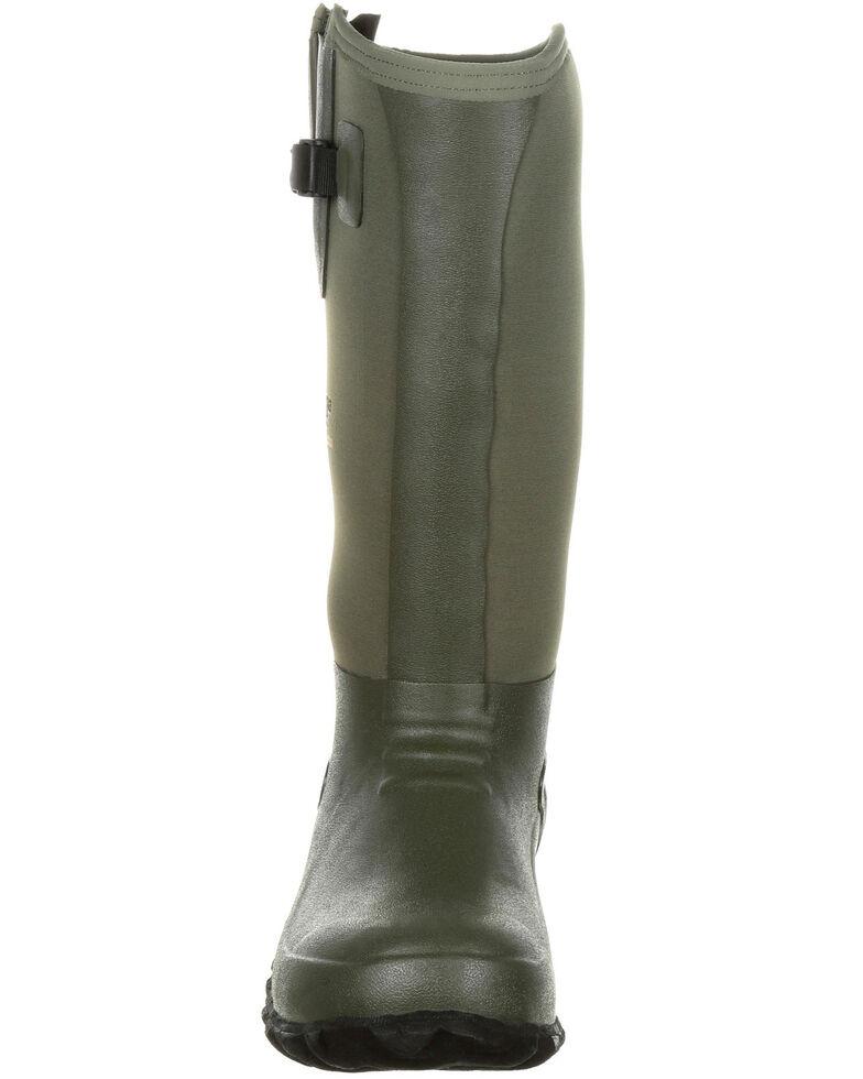 Georgia Boot Men's Waterproof Rubber Boots - Round Toe, Green, hi-res