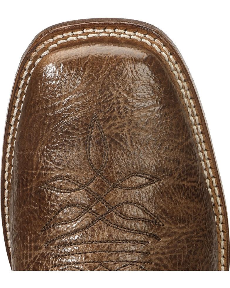 "Boulet Men's 12"" Wide Square Toe Stockman Heel Boots, Dark Brown, hi-res"
