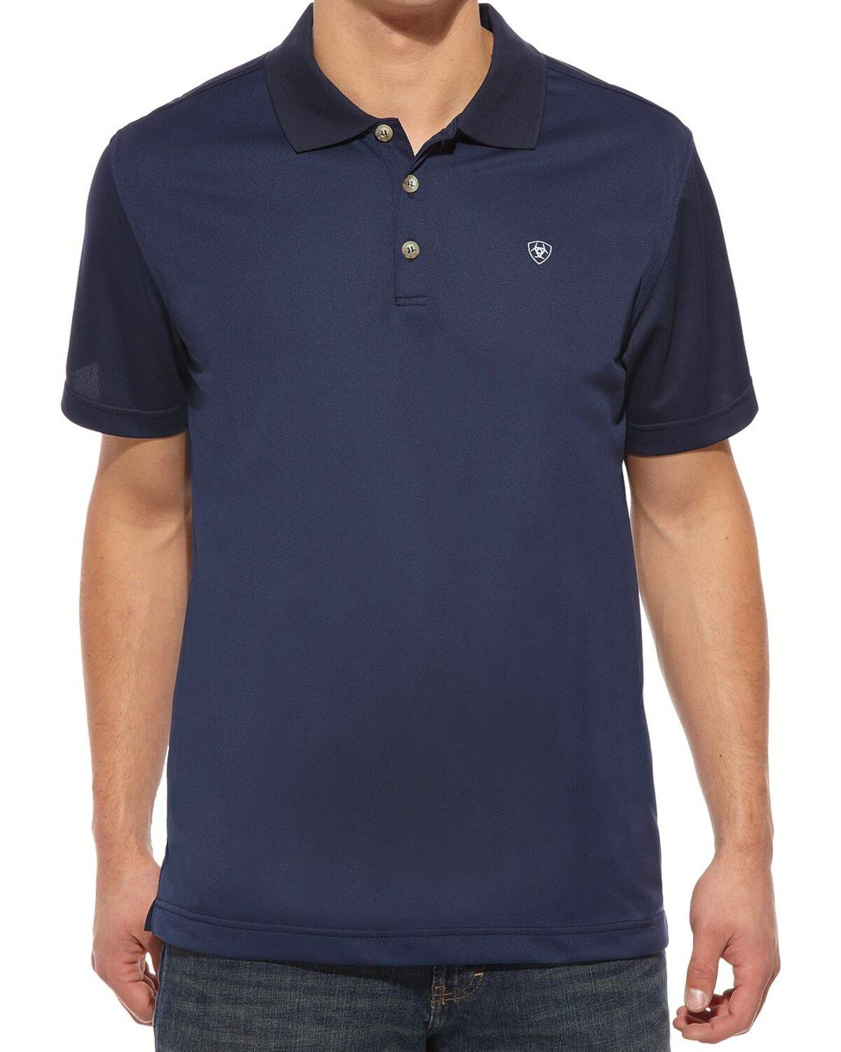 ARIAT Mens Hive Tek Stretch Polo Shirt