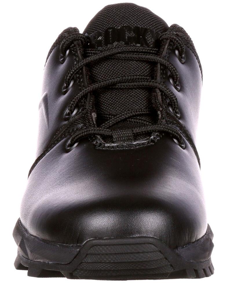 Rocky Men's Elements of Service Duty Shoes - Round Toe, Black, hi-res