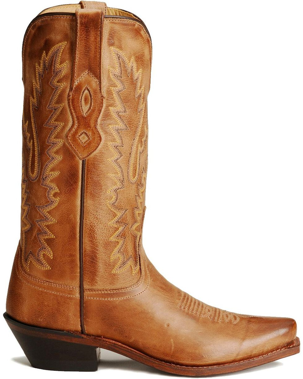 Jama Women's Snip Toe Fashion Boots, Tan, hi-res