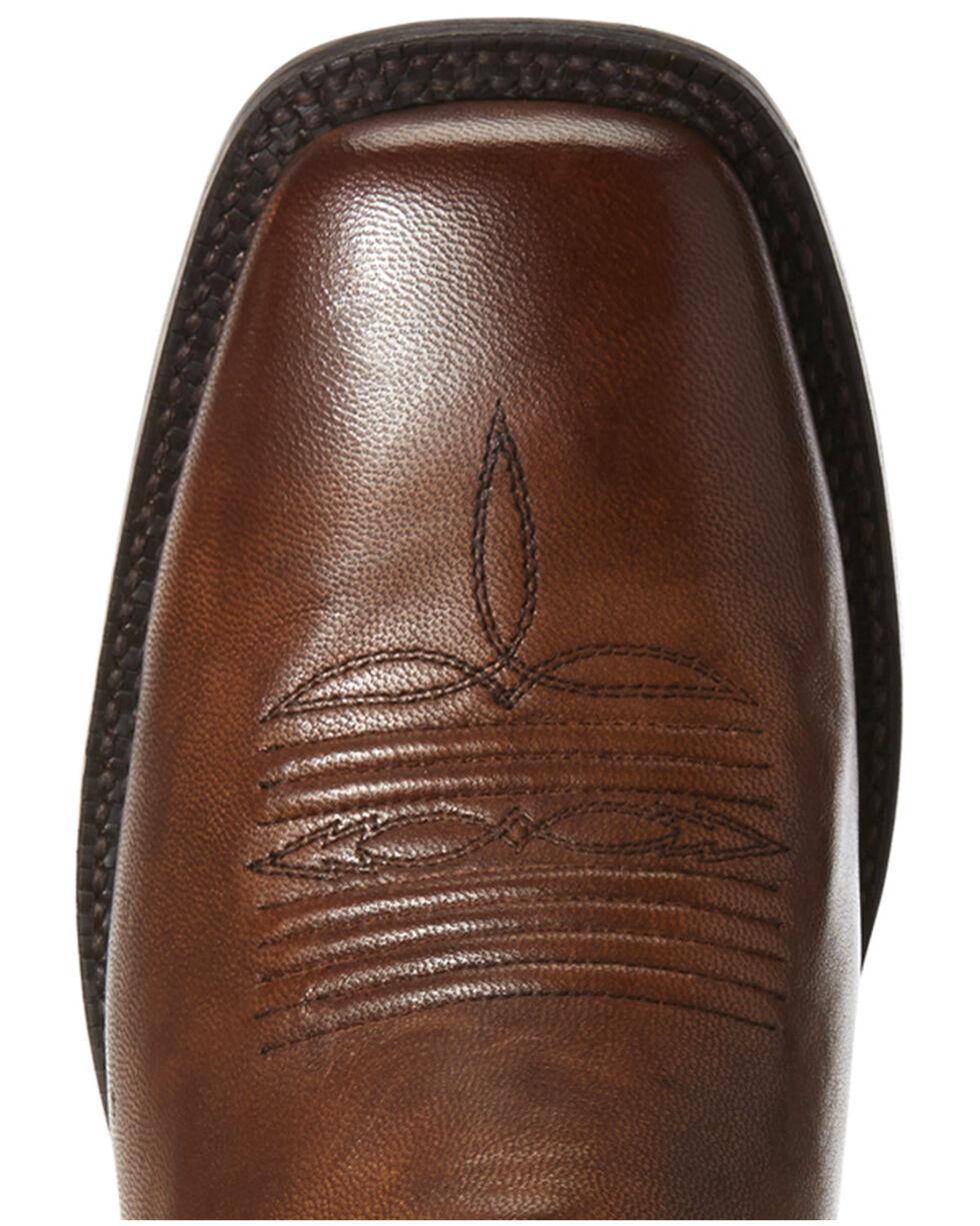 Ariat Men's Circuit Herd Boss Western Boots - Wide Square Toe, Cognac, hi-res