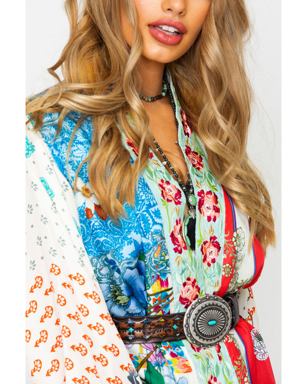 Johnny Was Women's Kukui Kimono, Multi, hi-res