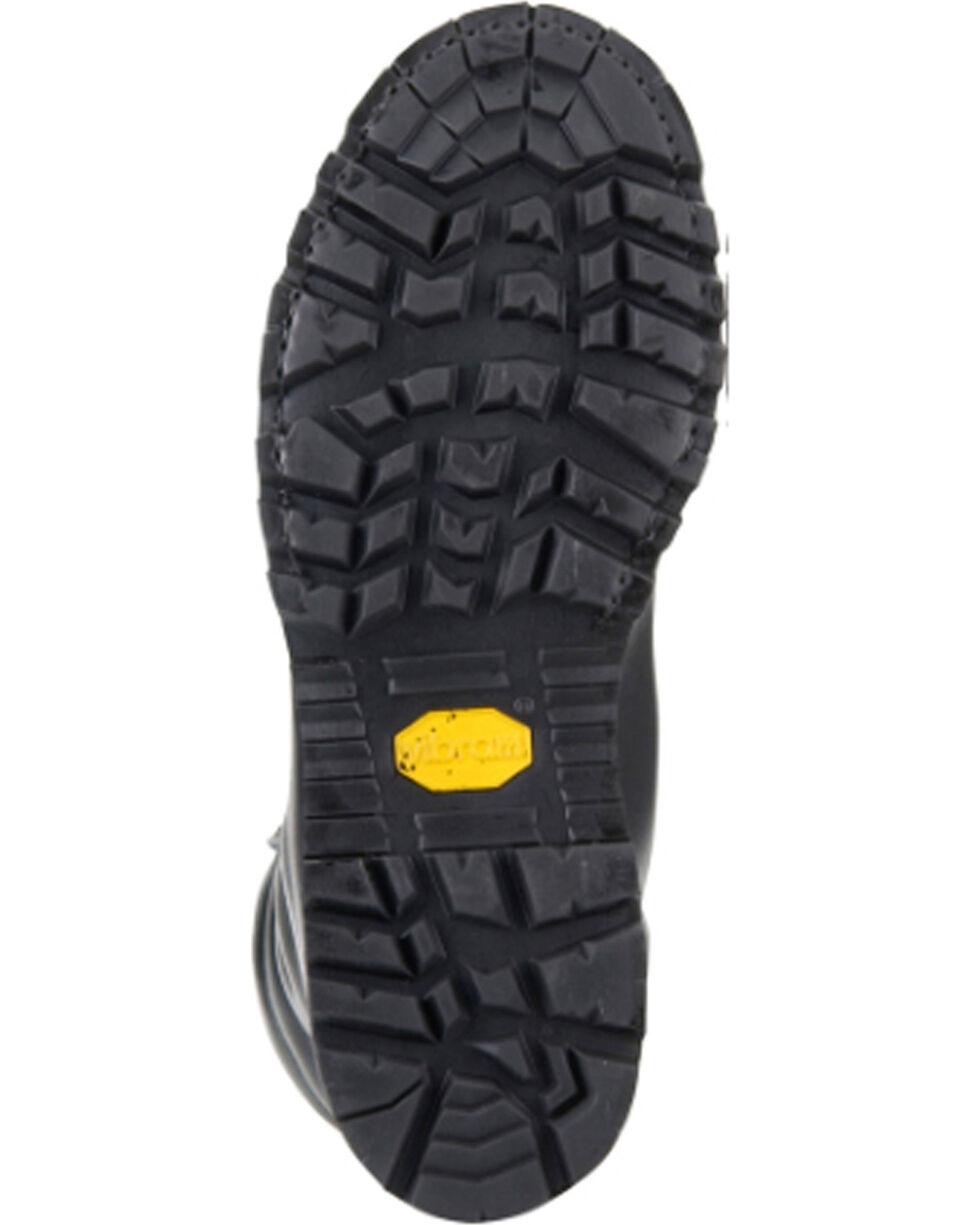 Matterhorn Men's Black Waterproof Lace Up Mining Boots - Steel Toe , Black, hi-res