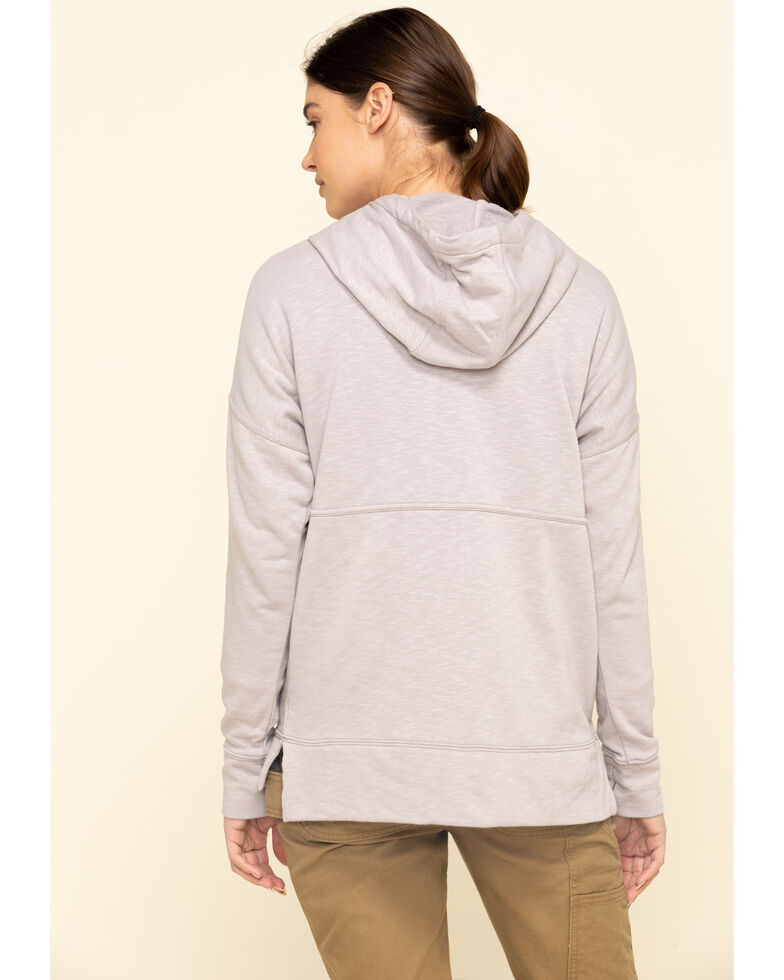 Carhartt Women's Gull Grey Newberry Hoodie, Grey, hi-res