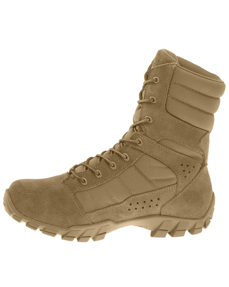 Bates Men's Cobra Hot Weather Tactical Boots - Soft Toe, Tan, hi-res