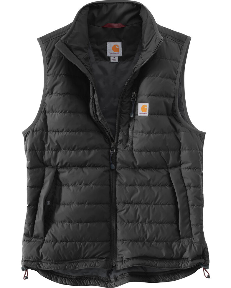 Carhartt Men's Gilliam Work Vest, Black, hi-res