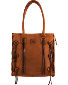 Sts Ranchwear Large Chaps Tote Brown Hi Res