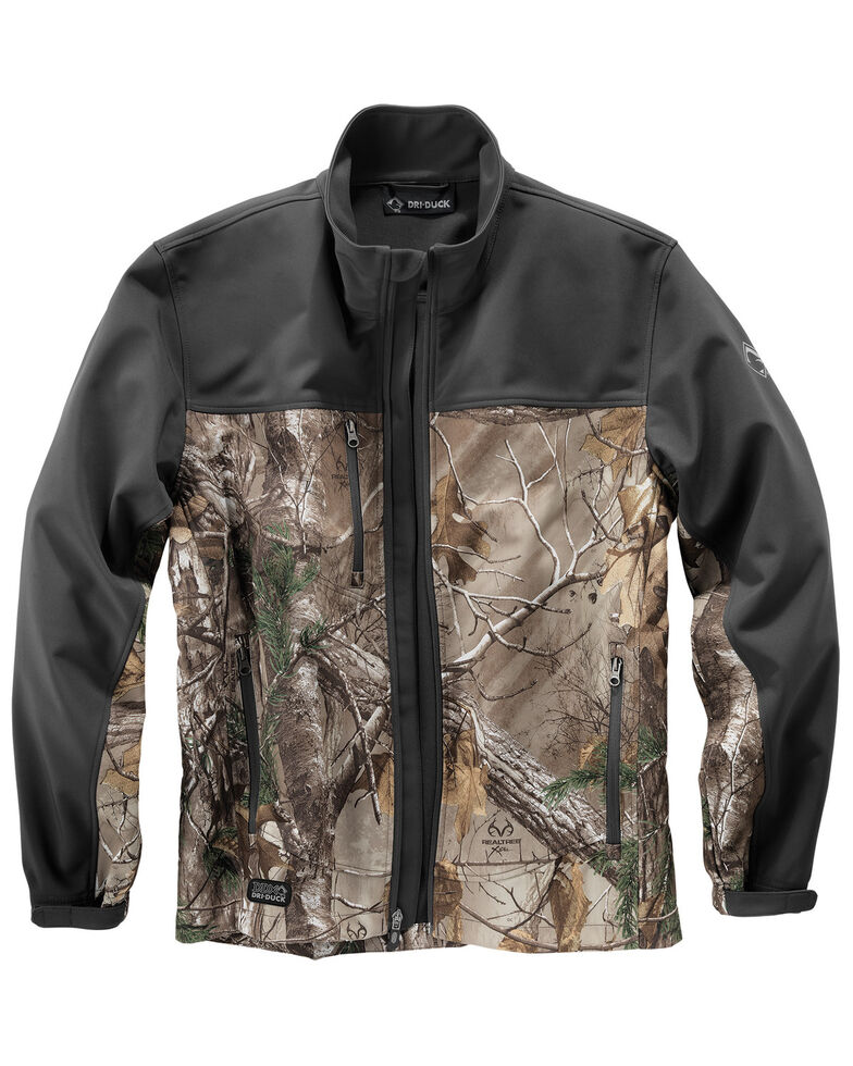 Dri-Duck Men's Motion Camo Softshell Jacket - Big & Tall, Camouflage, hi-res
