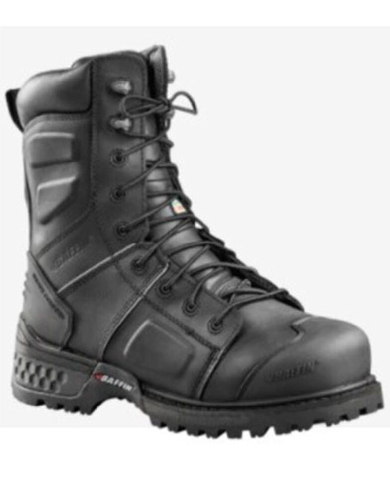 Baffin Men's Monster Waterproof Work Boots - Composite Toe, Black, hi-res
