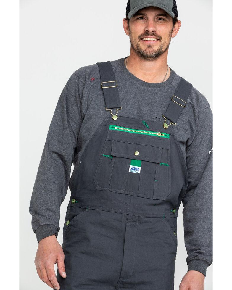 Dickies Men's Charcoal Liberty Duck Bib Work Overalls , Charcoal, hi-res