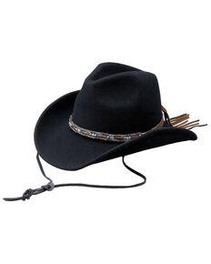Outback Unisex Tassy Crusher Aubrey Hat, Black, hi-res