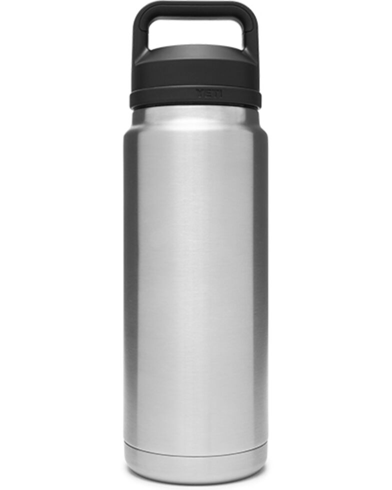 Yeti Rambler 26oz Stainless Steel Chug Bottle, Steel, hi-res