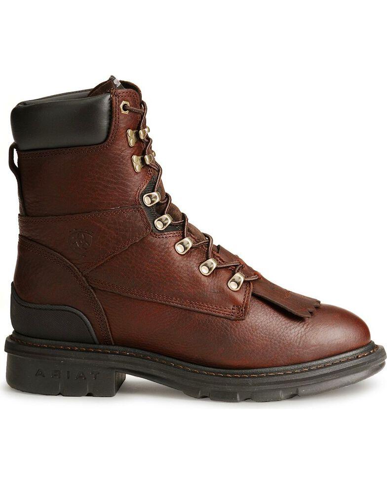 Ariat Men's Hermosa Steel Toe Work Boots, Redwood, hi-res