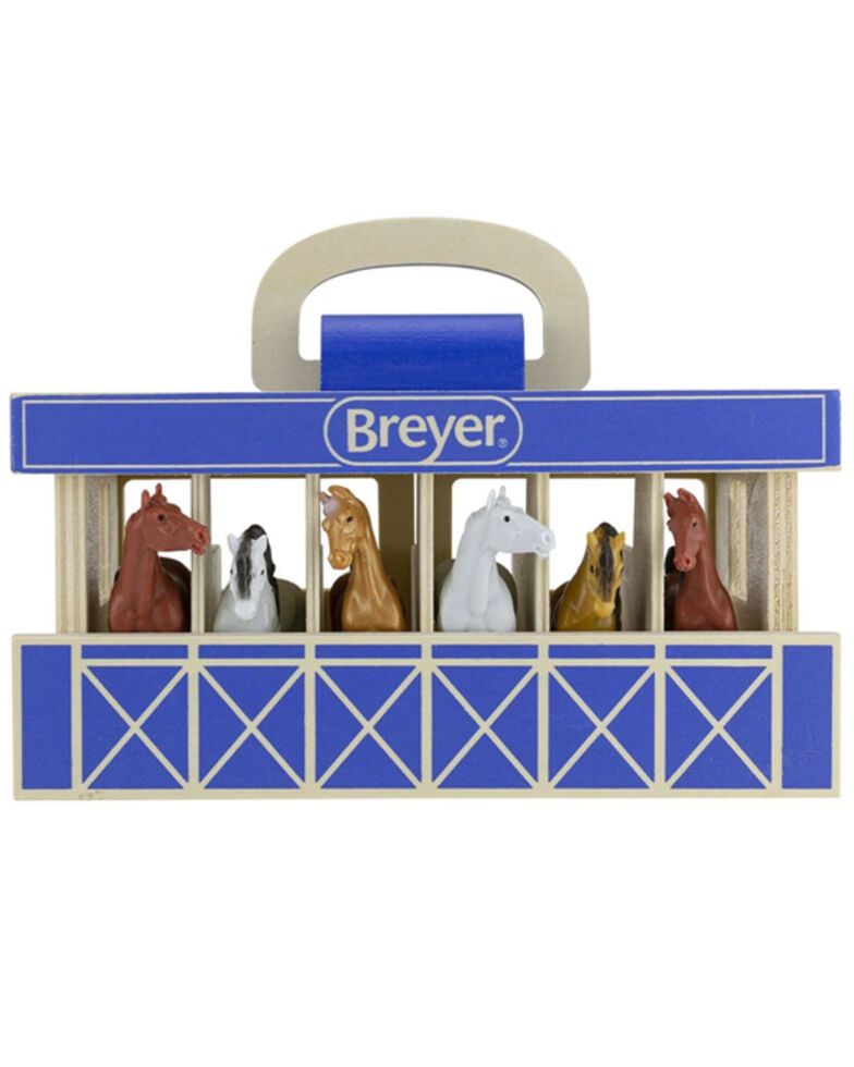 Breyer Kids' Wood Carry Stable, No Color, hi-res