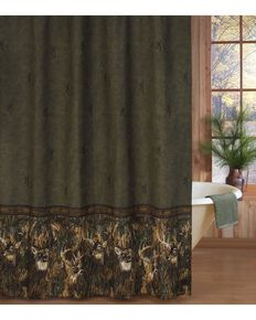 Browning Whitetails Shower Curtain, Multi, hi-res