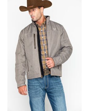 Cowboy Hardware Men's Woodsman Zip- Up Jacket , Brown, hi-res