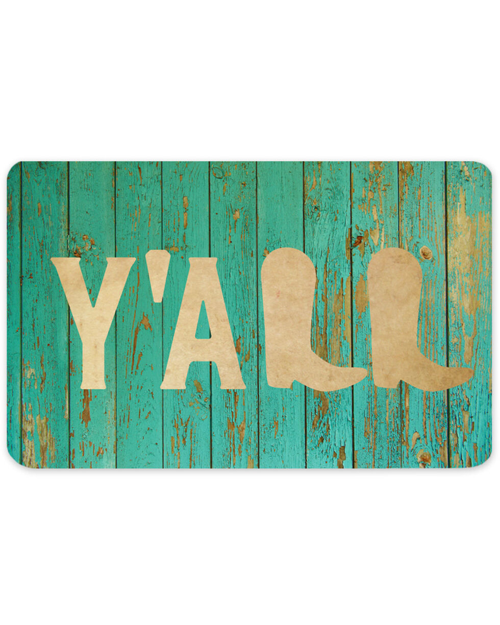 Boot Barn® Y'All Gift Card, No Color, hi-res